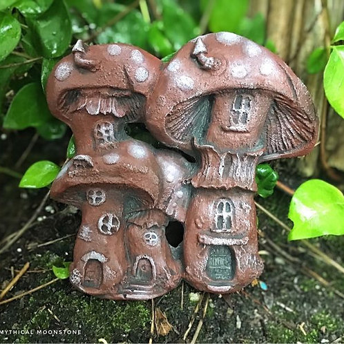 Mushroom House wall ornament