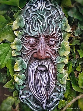 yellow-green-celtic-green-man-stone-garden-wall-ornament-gift
