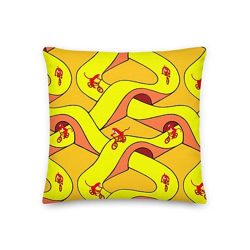 Monkey BMX Pillow
