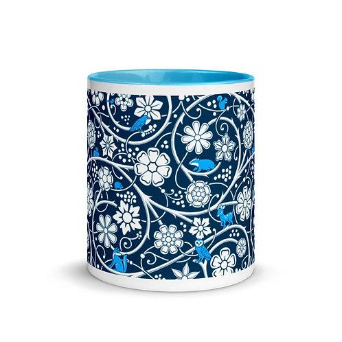Forest Mug - Blue