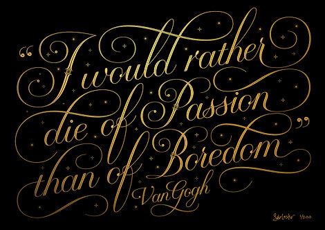 Passion - Gold & Black - 31 Left