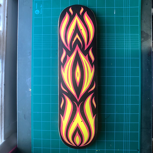'Wow' Skate Deck Original - Only 1 available