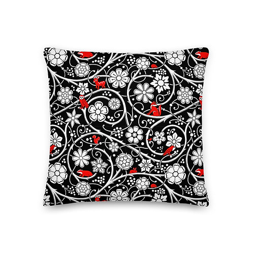 Forest Pillow - Black