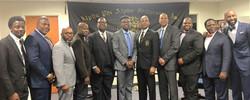 Dele Oladapo, Quahim Muhammad, Brian Agnew, Fred Davis, Paul Murdock, Maurice Williams, Horner Willi