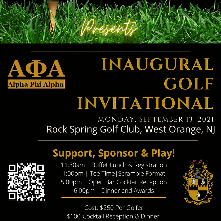 AAL Scholarship & Educational Foundation Inaugural Golf Invitational