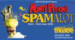 Spamalot Musical Poster