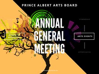 Prince Albert Arts Board Annual General Meeting