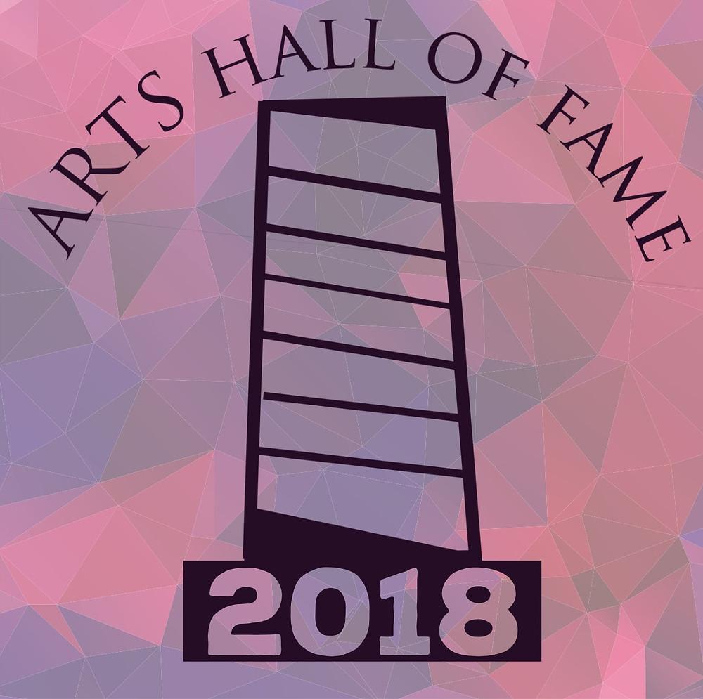 2018 Arts Hall of Fame Logo