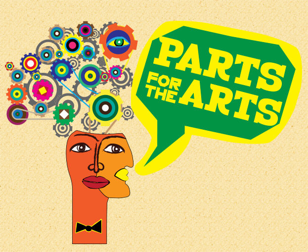 PARTS for the ARTS Logo