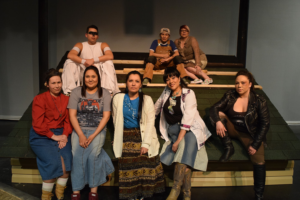 Rez Sisters by Tomson Highway, presented March 2017 by Spark Theatre