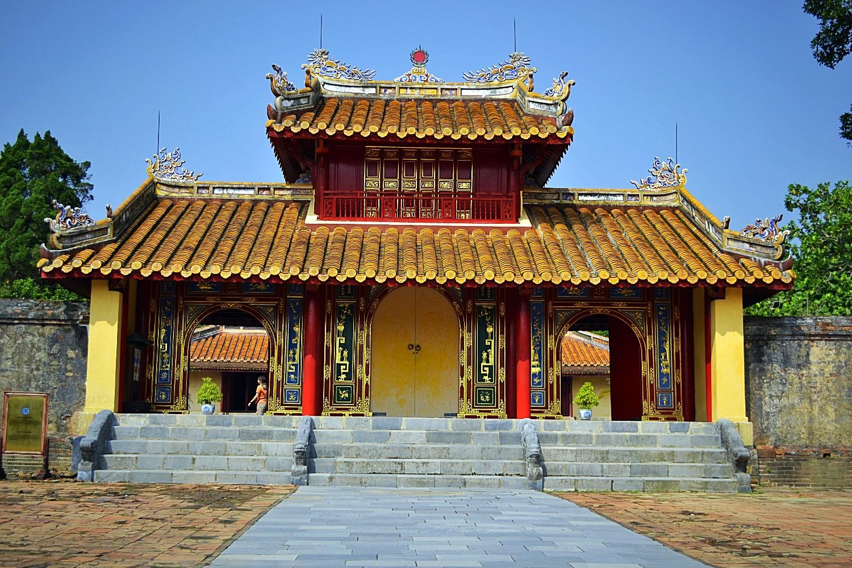 Pavillon Impérial à Hué