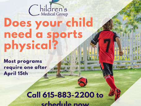 Schedule a Sports Physical Today