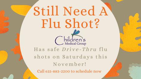 Flu Shots are Still Available!