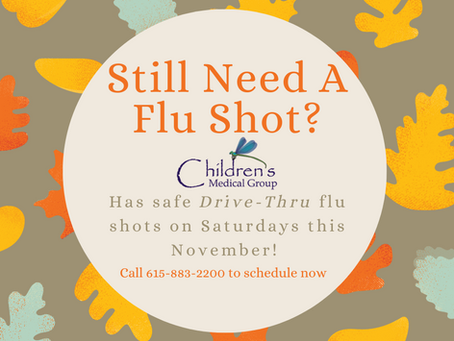 Flu Shots are Still Available!