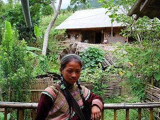 Ethnie Hmong Bariolé,  vietnam à la carte by asieland