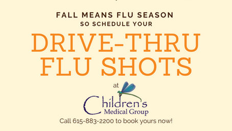 Drive-Thru Flu Shots are Back!
