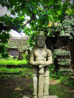 Temple Vat Nokor, Kompong Cham