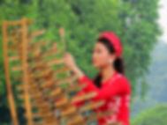 musicienne à Hanoi, vietnam à la carte by asieland