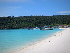 Plage à Koh Rong, coconut beach, asie a la carte by asieland