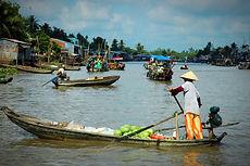 Scène du Delta du Mékong, asie a la carte by asieland
