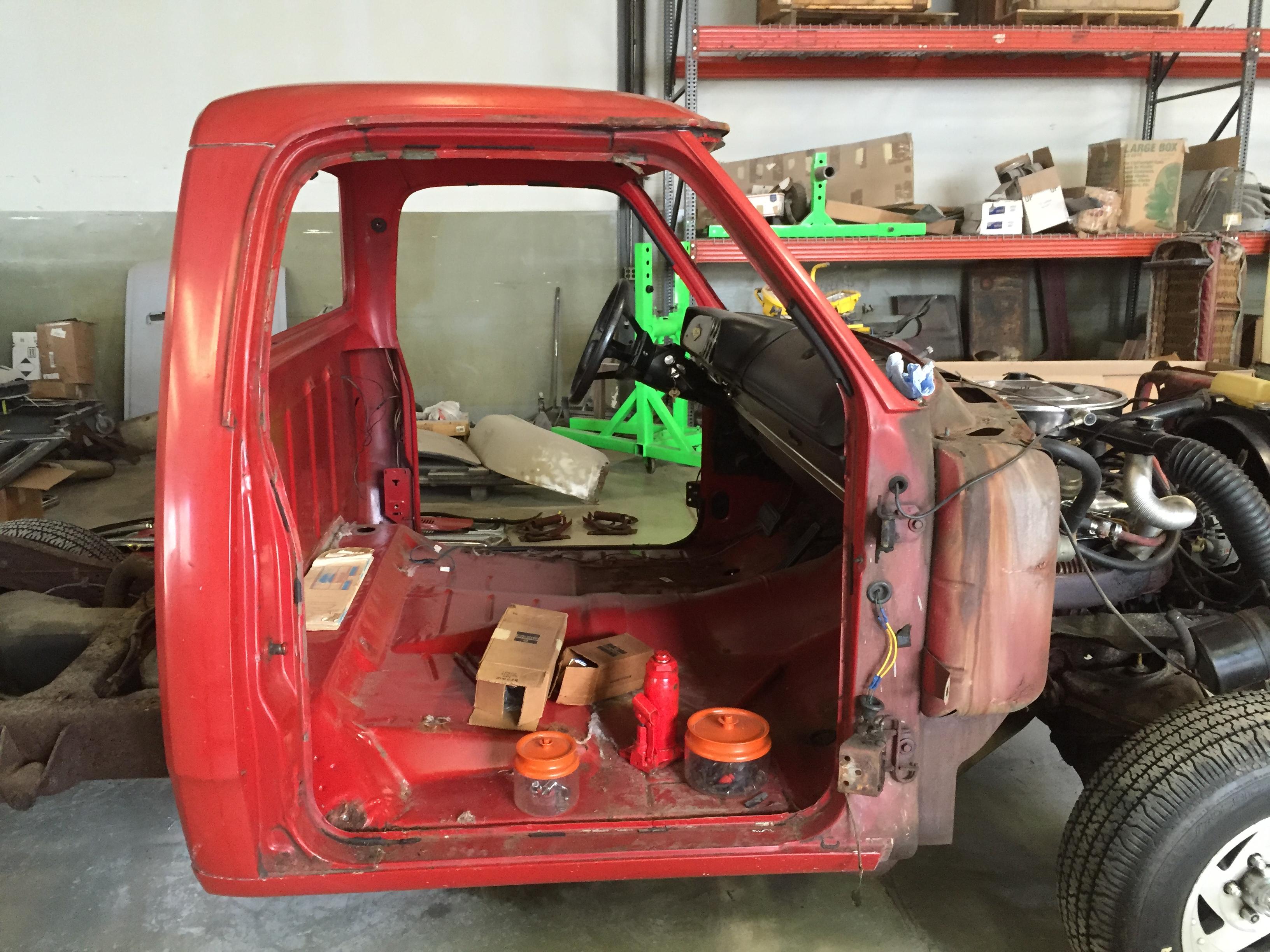 Dodge truck restoration