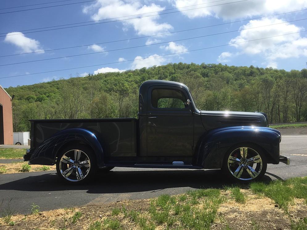classic Ford truck restoration