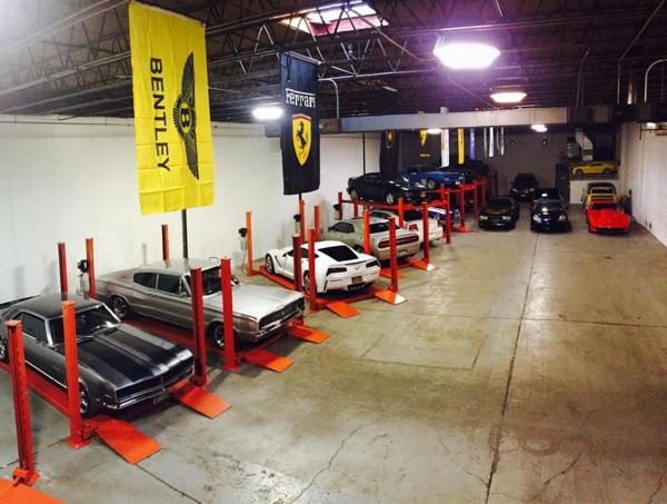indoor car storage
