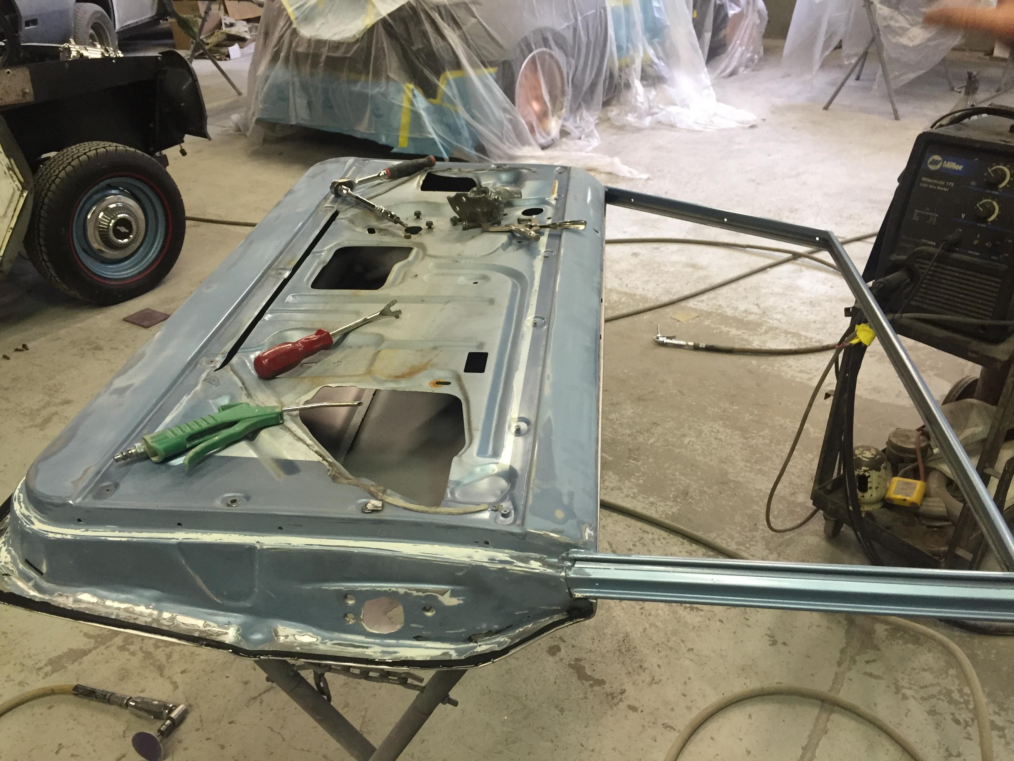 Chevy Nova restoration
