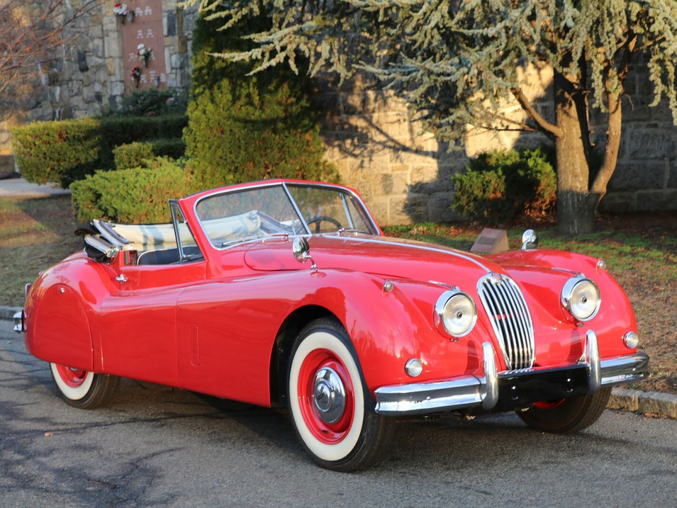 SOLD -1957 Jaguar XK150