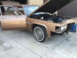 Cadillac restoration