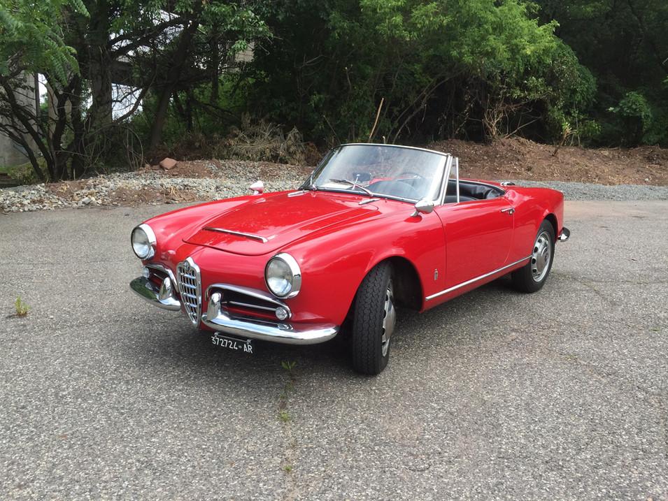 SOLD - 1963 Alfa Romeo