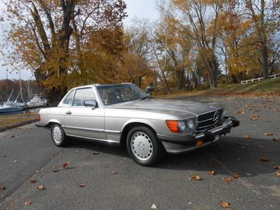 SOLD - 1988 Mercedes SL