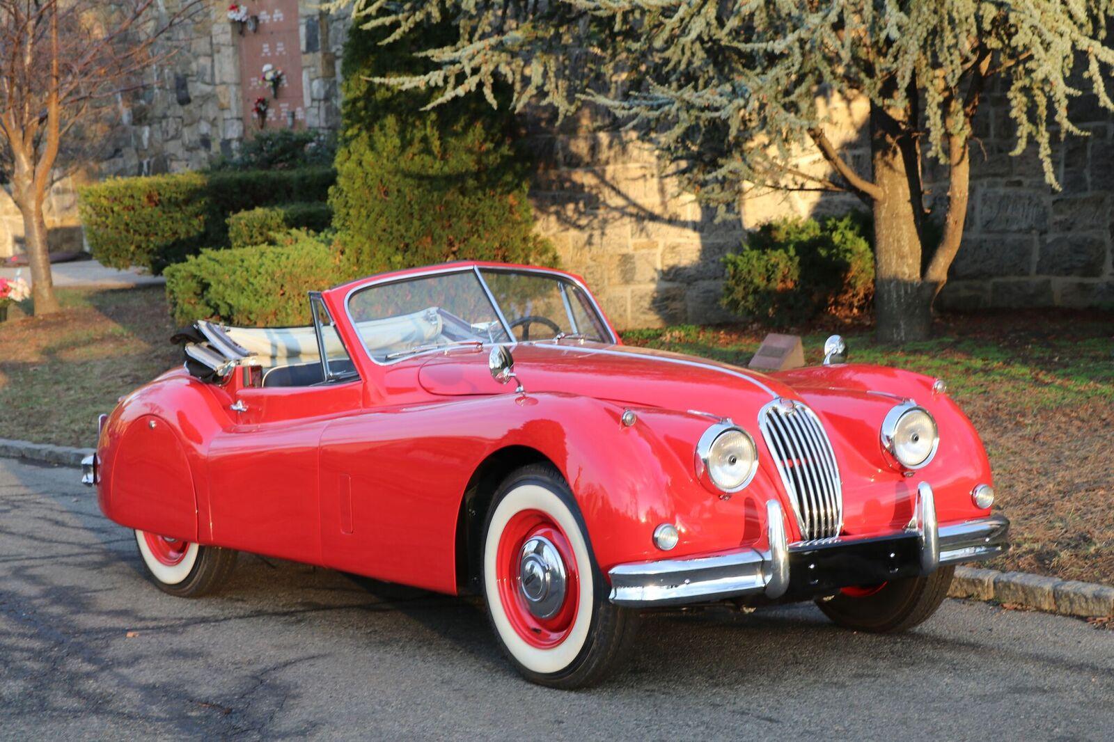 # 22164 1957 Jaguar XK150 Red (4)_preview
