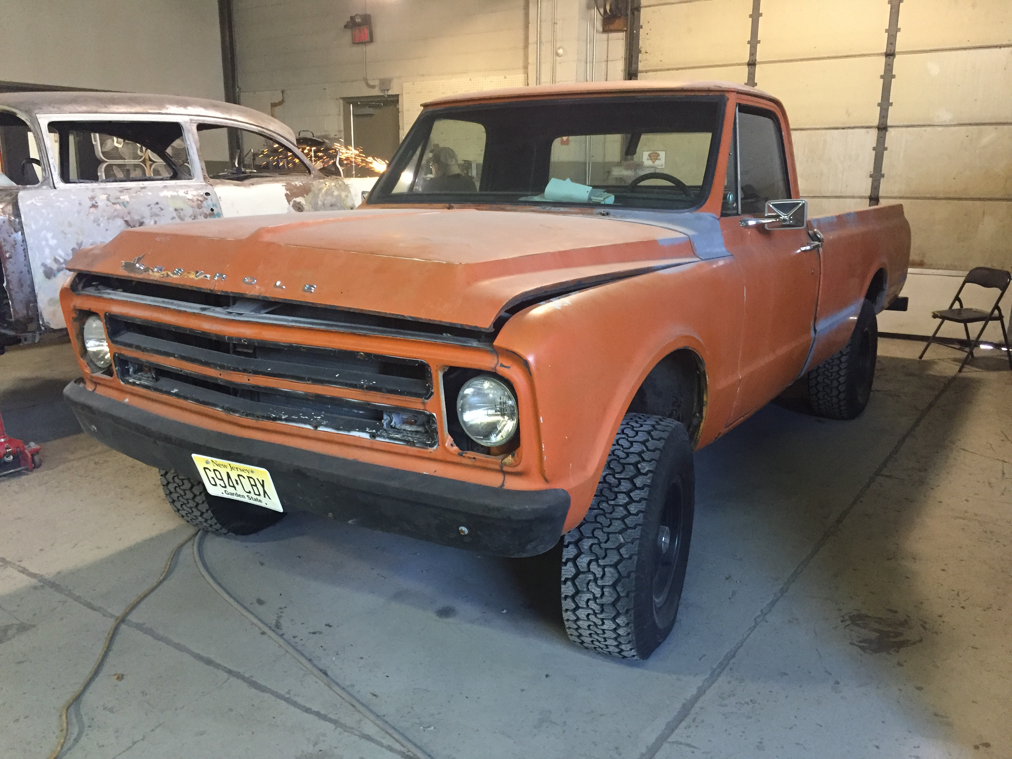 Chevy truck restoration