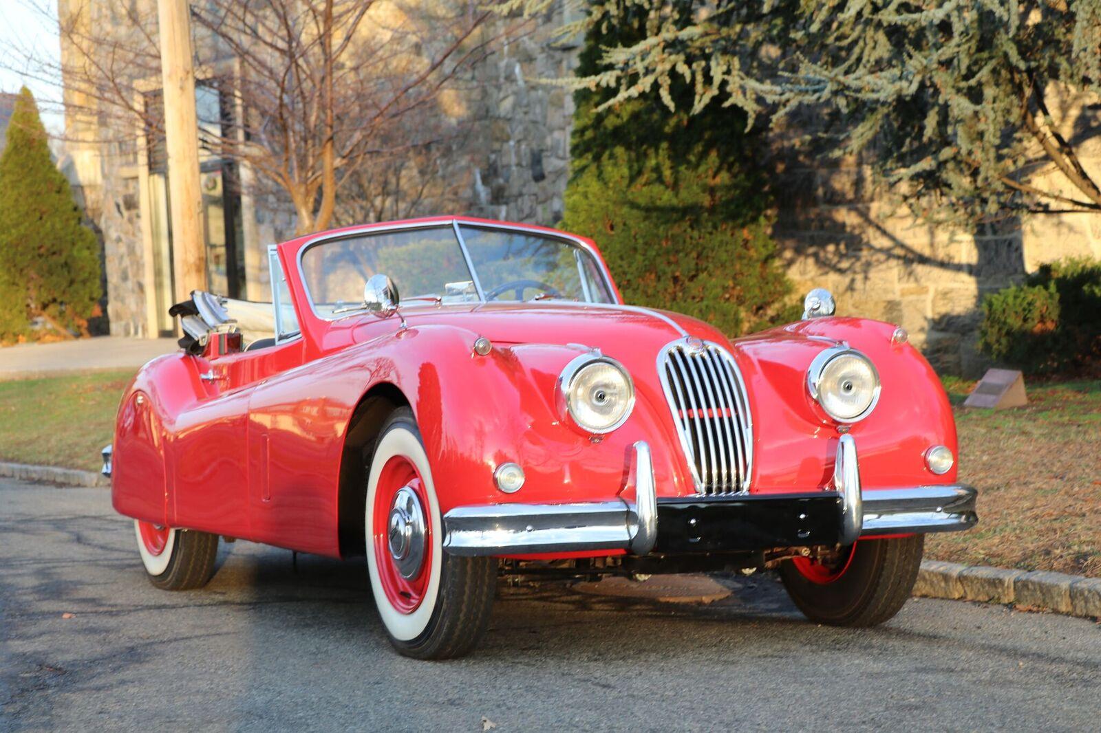 # 22164 1957 Jaguar XK150 Red (3)_preview
