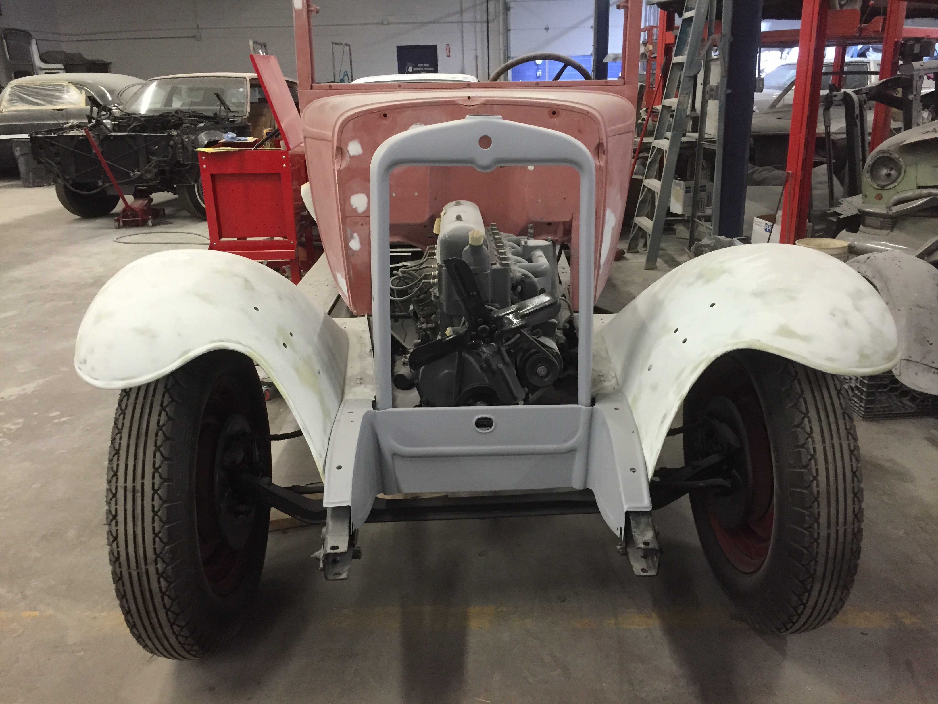 classic Chevy restoration