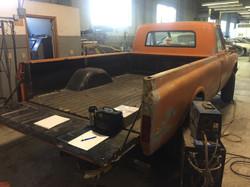 Chevy truck restoration