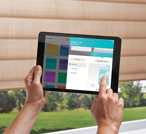 Blinds Controlled from iPad