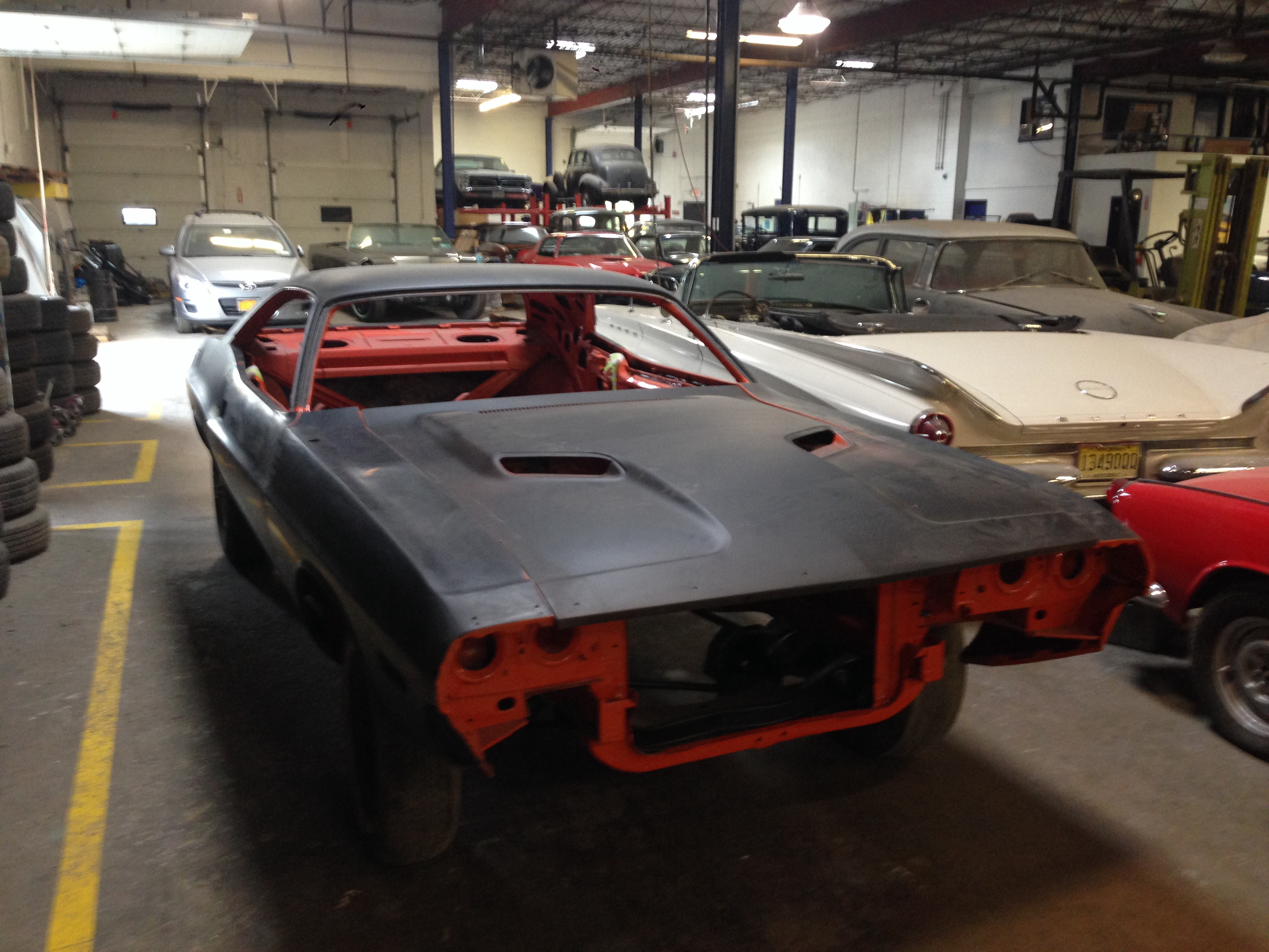 Dodge Challenger restoration