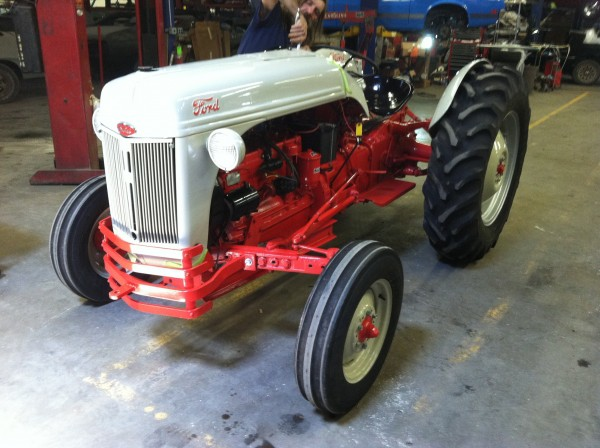 Ford tractor restoration