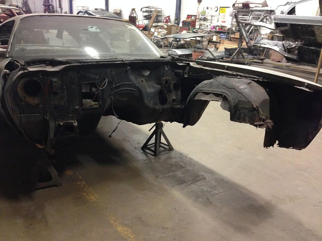 Firebird restoration