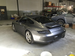 Porsche bodywork