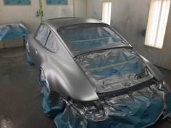 classic car paint job