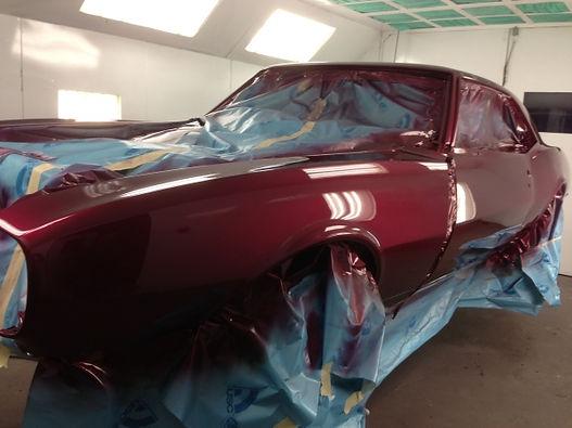 Camaro restoration, classic car paint, car restoration nj, restomod, custom car build, car restoration ny