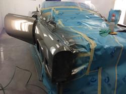 classic Cadillac paint restoration