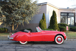 # 22164 1957 Jaguar XK150 Red (7)_preview