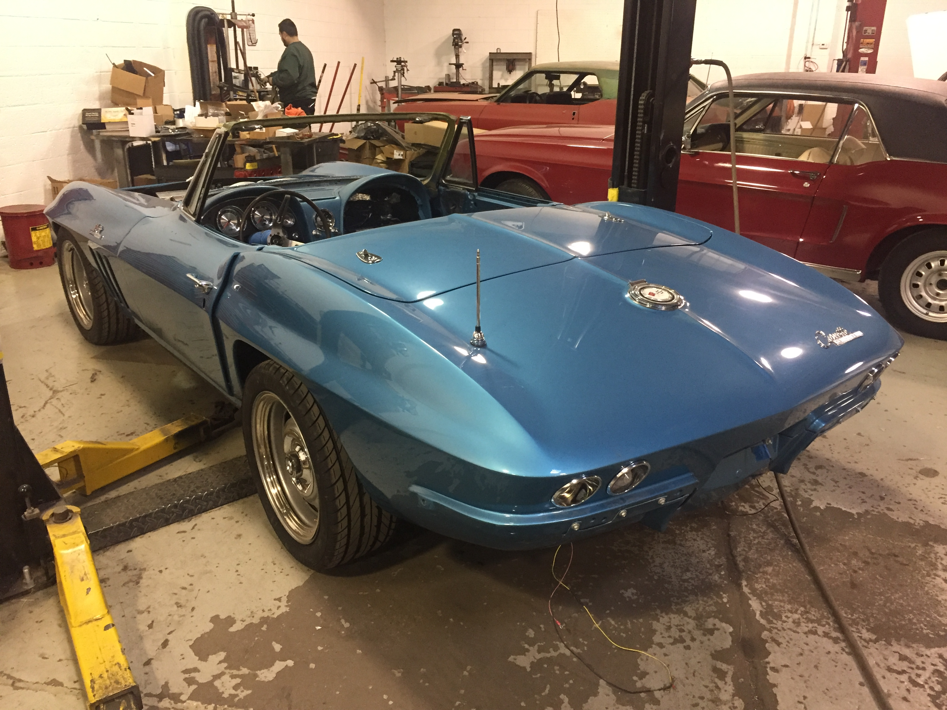 Corvette restomod