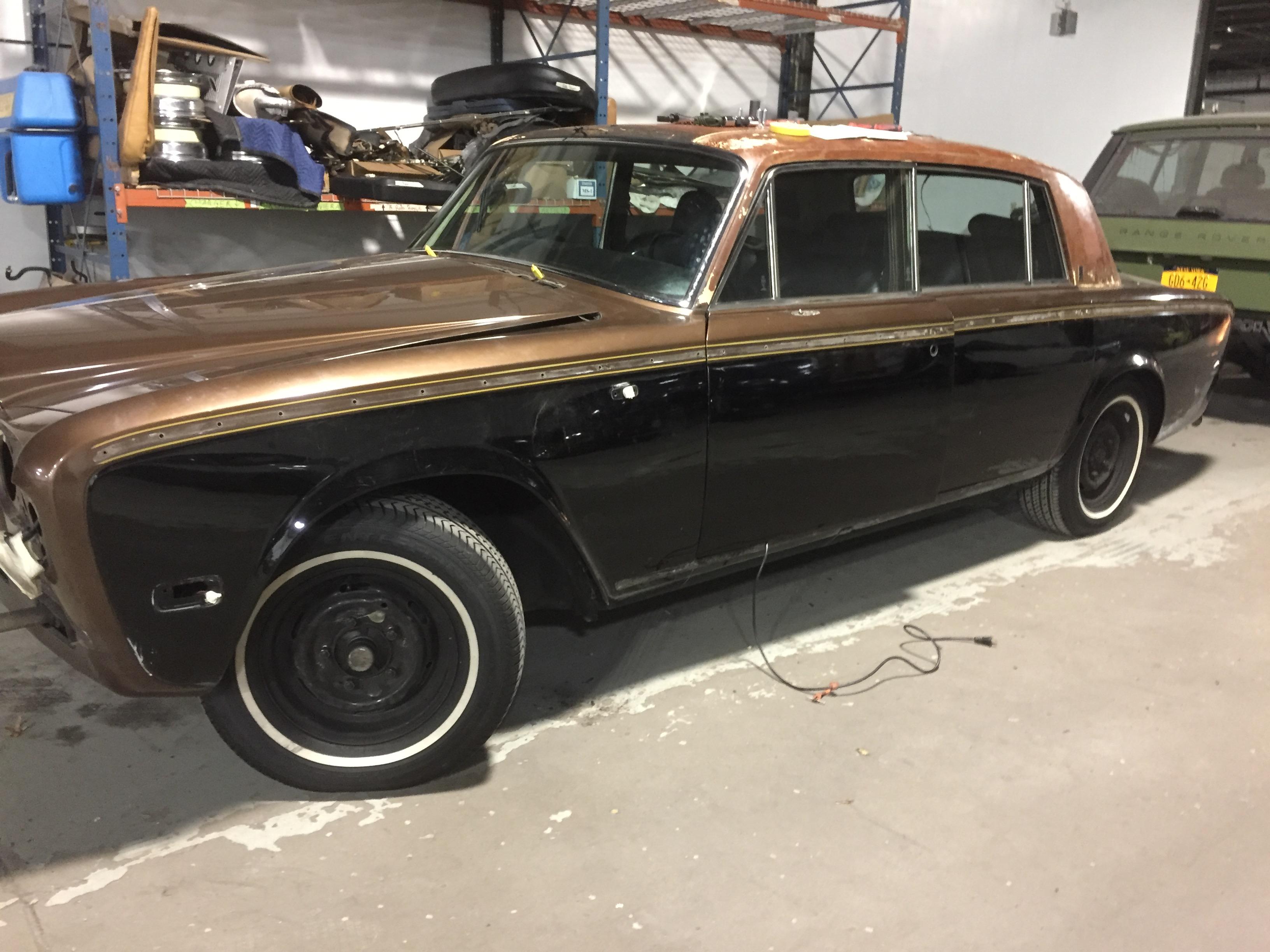 classic Rolls Royce restoration