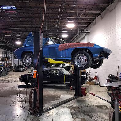 Corvette restoration, car restoration, car restoration nj, custom car build, car restoration ny
