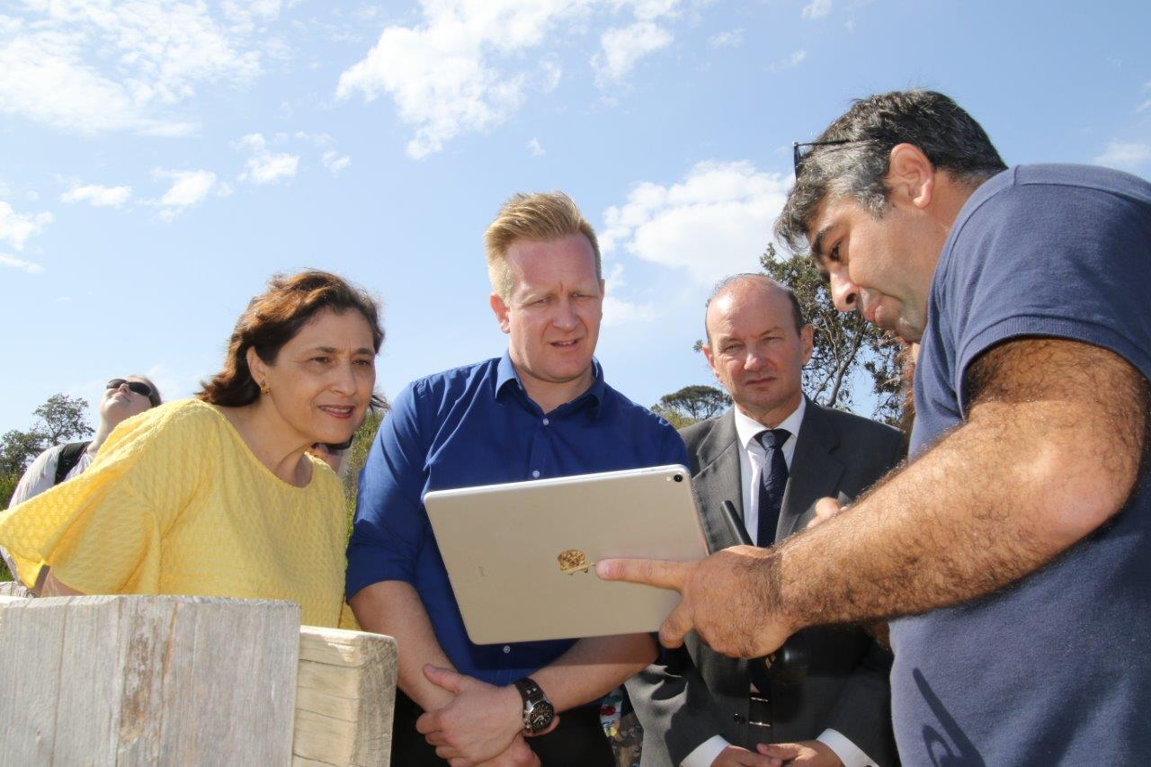Drone Mapping with Minister D'Ambrosio,